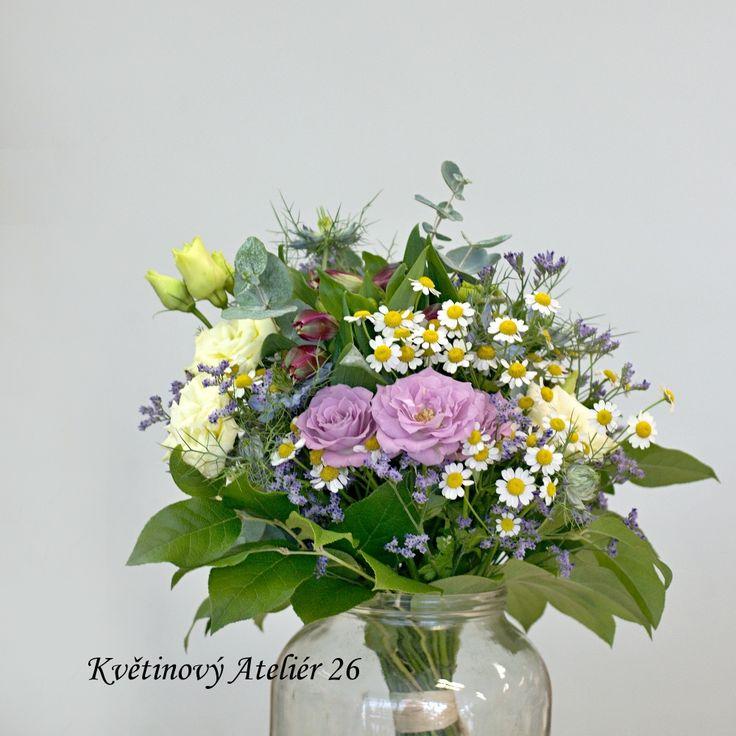 fotogalerie – Květinový Ateliér 26 #wedding #florist #flowers #rusticwedding #bouquet #kvetinovyatelier26 #weddingbouquet #meadow #tanacetum #eustoma #limonium #eucalyptus