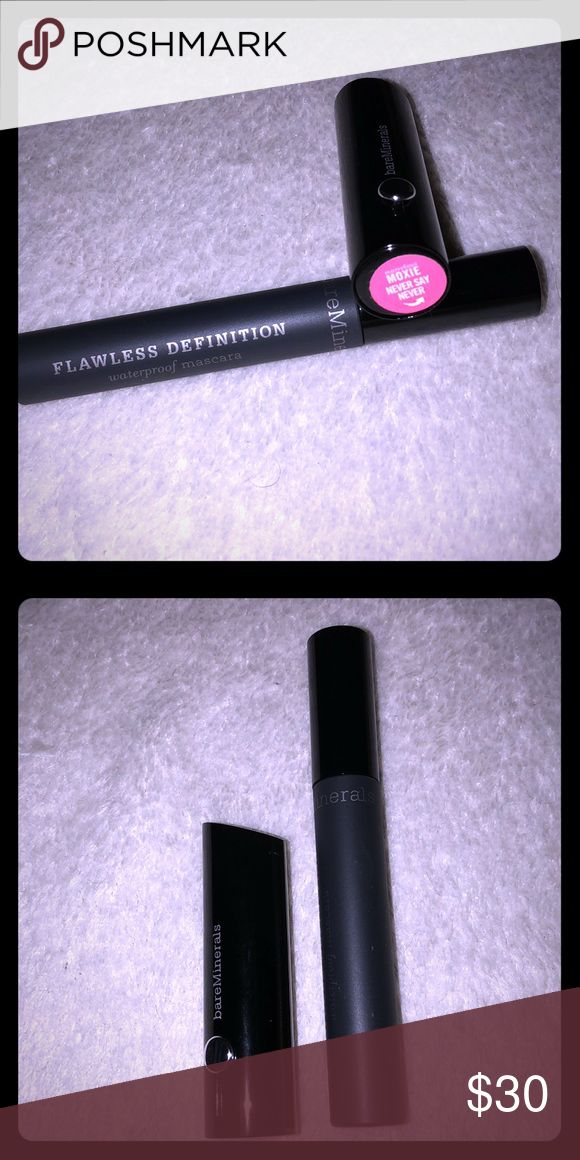 🆕2 Piece Bare Minerals Lot 1 Full Sized Flawless Definition Waterproof Mascara In Black Full Sized Marvelous Moxie Lipstick In Never Say Never (Pink) New and Unused. All Offers Will Be Considered. No Trades. A Random Beauty Sample Will Be Included with Every Package! The Bigger the Bundle the Better the Sample! Loyal Buyers Will Receive a Free Gift on the Third Transaction! bareMinerals Makeup Mascara