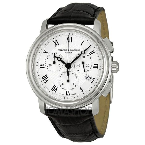 Frederique Constant Persuasion Silver Chronograph Dial Mens Watch 292MC4P6 $503.75
