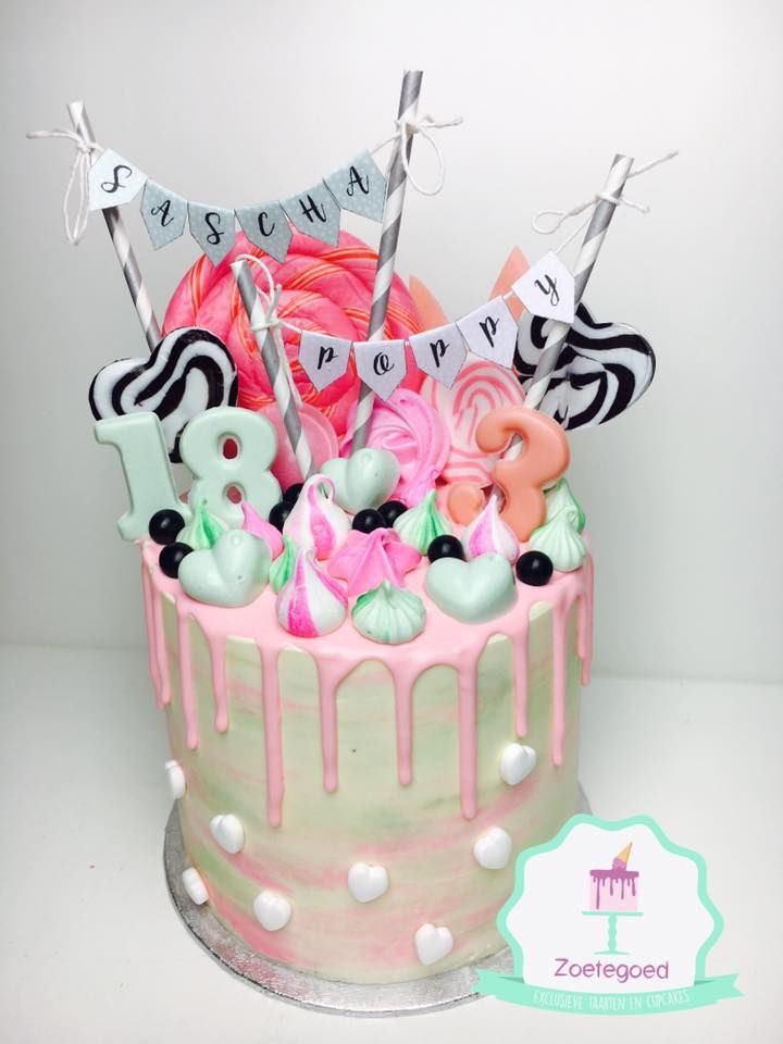 how to make drip cake with candy melts