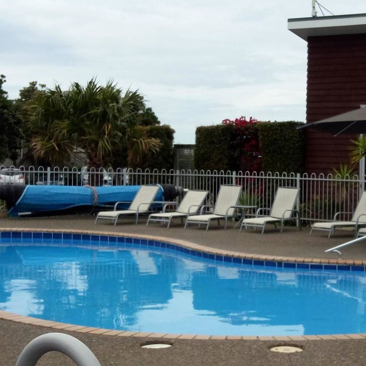 Just back from a swim in the pool at oceans resort in #whitianga