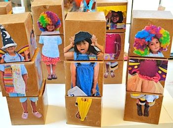 Small Hands Big Art mix and match box dolls