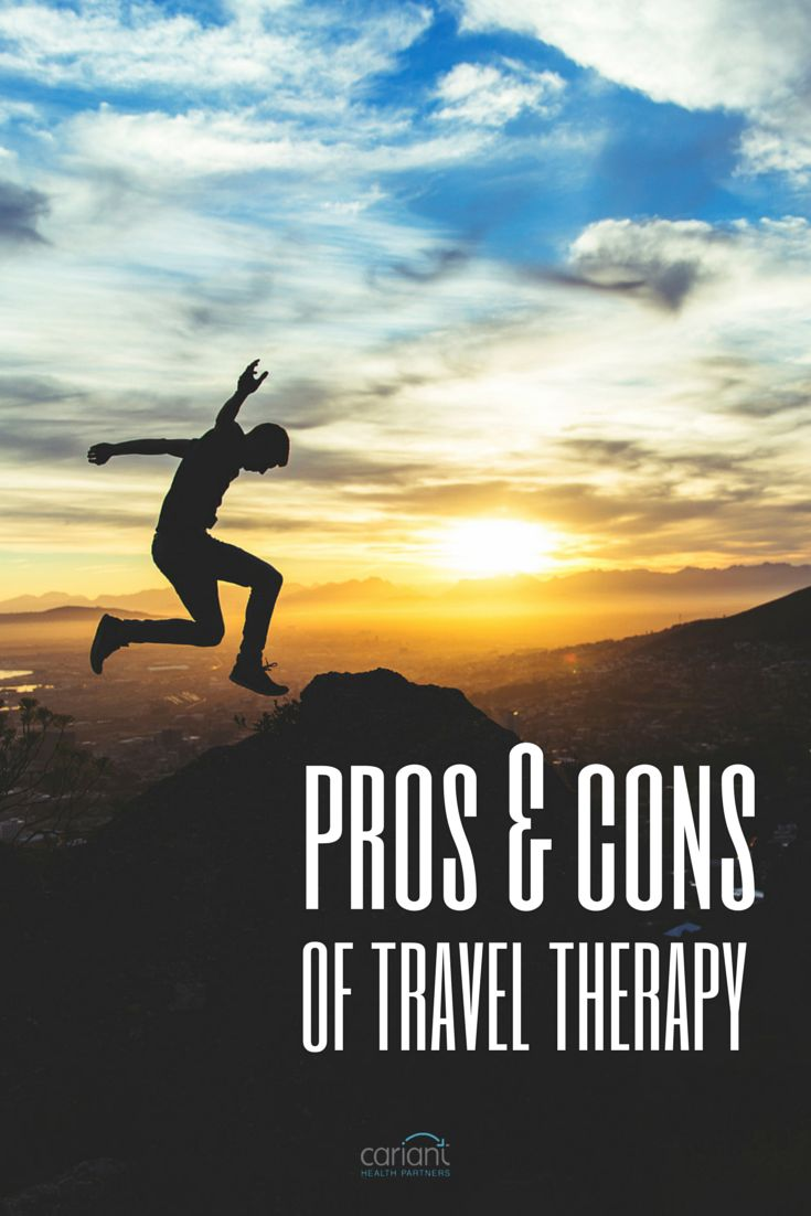 Four pros and four cons we typically share with first-timers considering a travel therapy assignment. Cariant Health Partners | Travel Physical Therapist | Travel OT | Travel SLP