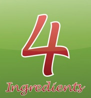 4 Ingredients was written to save YOU Time & Money in the Kitchen!    It aims to SIMPLIFY all forms of cooking by creating quick, easy and delicious recipes which are:    Made with 4 or fewer ingredients  Explained in an average of 4 sentences  Made using just 1 cup, 1 tablespoon and 1 teaspoon  Made with ingredients easily found in your local supermarket!