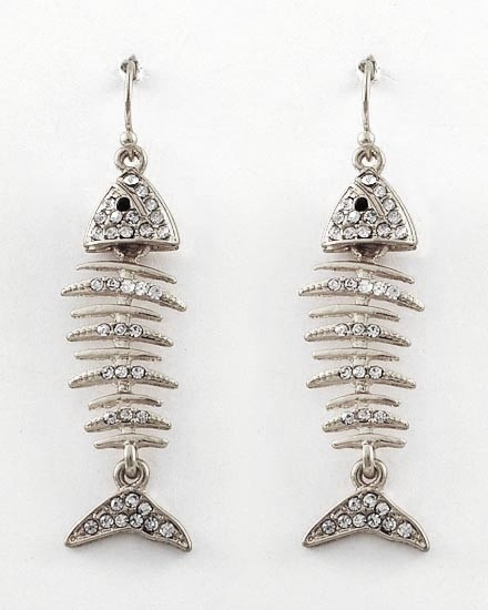 41 best images about statement earrings on pinterest winter sale turquoise earrings and earrings - Gone fishin flatware ...