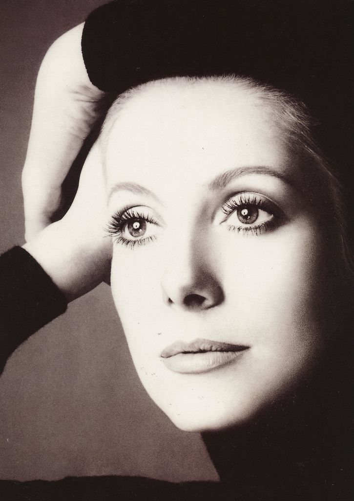 A woman has to be intelligent, have charm, a sense of humor, and be kind. It's the same qualities I require from a man ~ Catherine Deneuve    {Catherine Deneuve by Richard Avedon (for Chanel 5, 1972)}