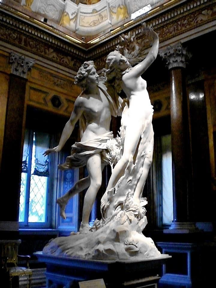 Spending an Afternoon with Bernini's Sculptures at the Villa Borghese in Rome, Italy ~ Ana Menendez. V