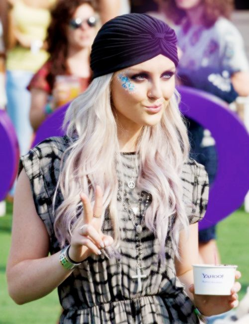 Perrie at Wireless Festival