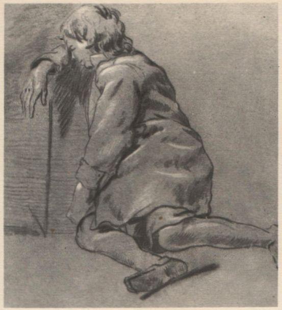 Бега Корнелис Питерс (Bega, Begga, 1620-1664) - Сидящий мальчик (Государственный Эрмитаж, С.-Петербург)