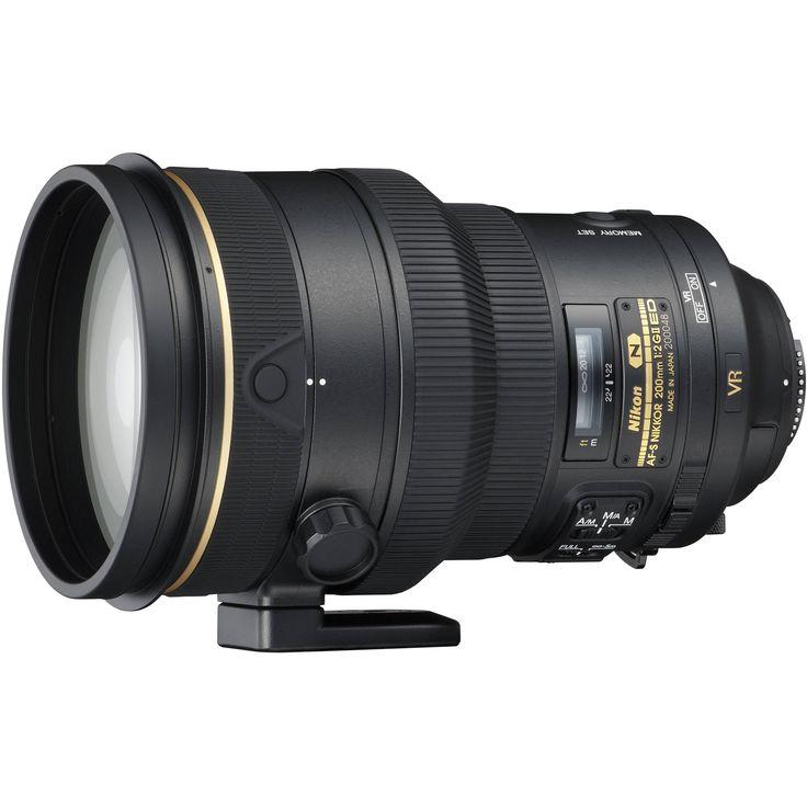 Nikon AF-S NIKKOR 200mm f/2G ED VR II Lens  Meg Bitton's favorite portrait lens  $5,697