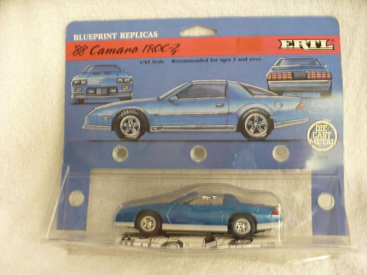 #transformer dh- ertl blue 1988 88 camaro iroc-z blueprint replicas