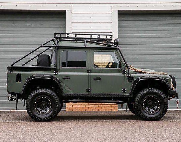Pin By Heath Kessler On Style Land Rover Defender Jaguar Land