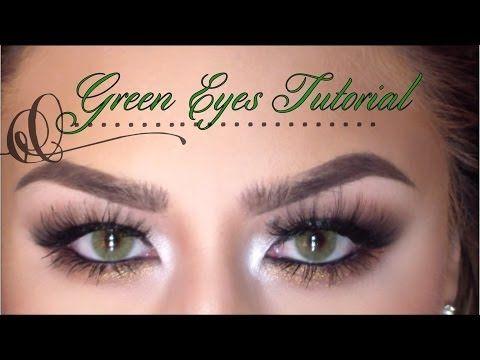 Tutorial for Green Eyes (Solotica Mels lenses)