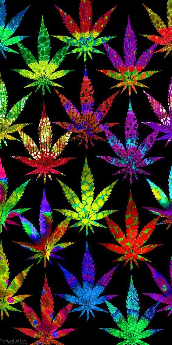 Pot Leafs Marijuana Art - CannabisTutorials.com