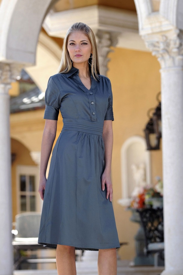 looks cute and comfySummer Shirts, Modest Dresses, Church Dresses, Nature Style, Graduation Dresses, Christian Wife, The Dresses, Jesus Love, Grey Dresses
