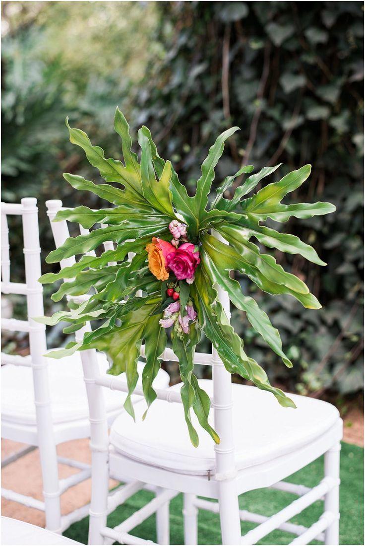 Tropical Safari Wedding Outdoor wedding ceremony Casablanca Manor Wedding Venue Photo credit: Ironrose