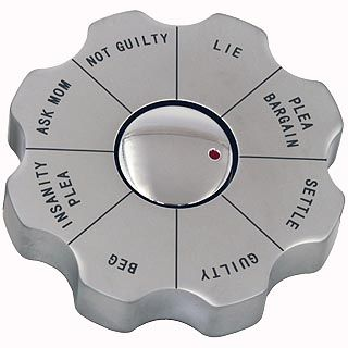 Legal decision spinner for lawyers