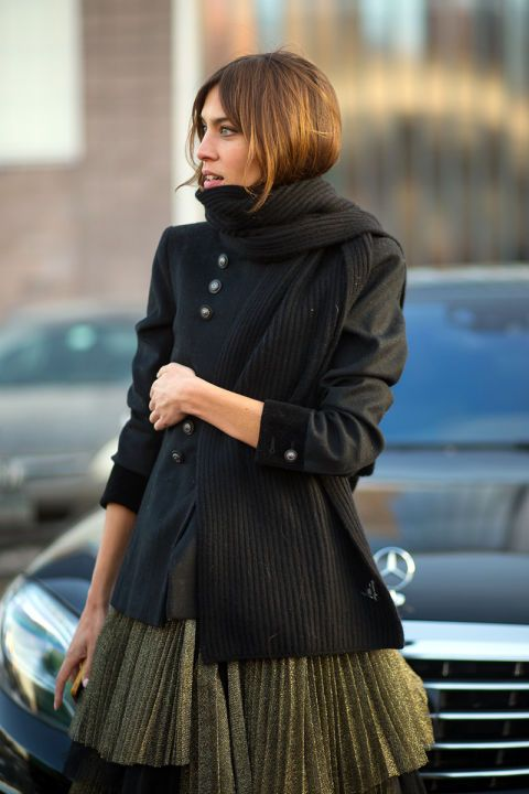 Alexa Chung in Marc by Marc Jacobs