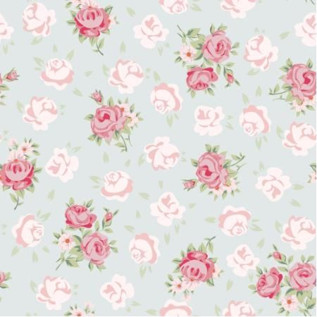 Papel de Parede -  Floral 121118587  - Preço de Fábrica