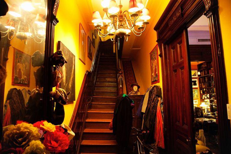 Albert Maysles' home, Harlem