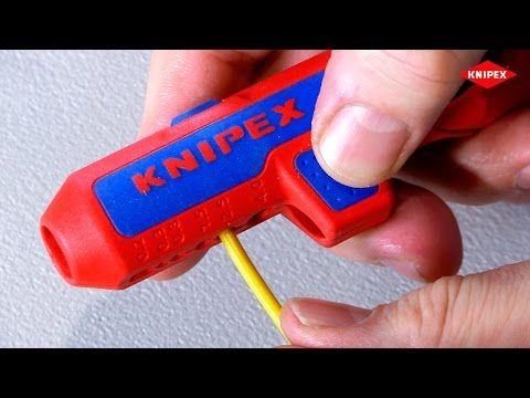 KNIPEX ErgoStrip Universal-Abmantelungswerkzeug (Werkzeug-TV) - YouTube