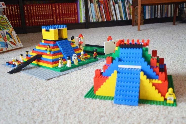 Legos:  Zigurrat Meets Mayan Temple