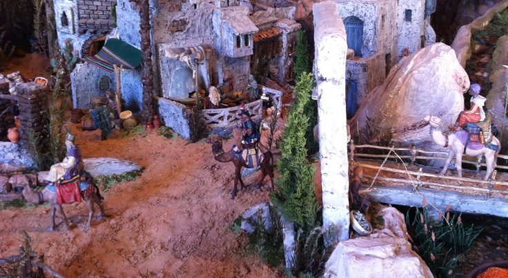 Belen, or nativity scene - check out the amazing level of detail.