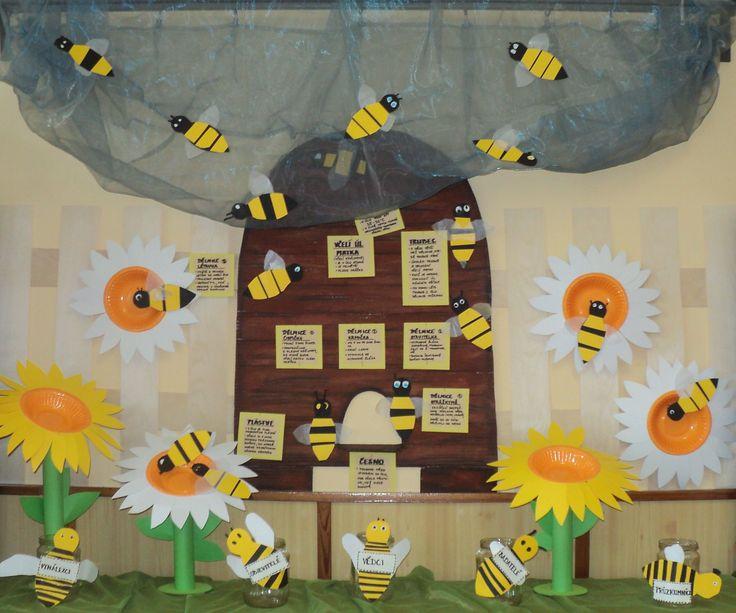 Včely - výzdoba k projektu