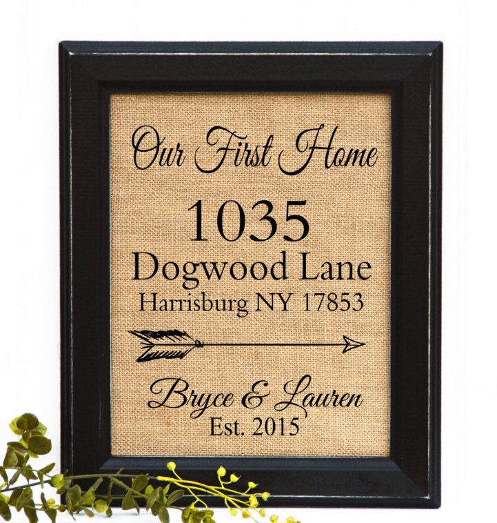 Realtor Closing gift, First Home Gift, Housewarming Gift, Our New Home, Realtor Gift, Gift for clients, Newlywed Gift, Gift for Family by BlessedHomesteadShop on Etsy
