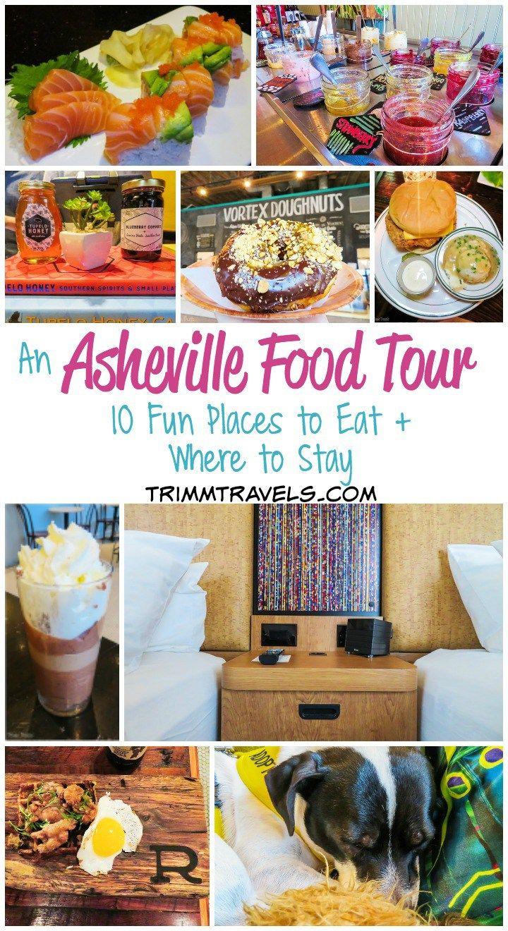 An Asheville Food Tour 10 Fun Places To Eat Where To Stay Asheville Food North Carolina Food Food Tours