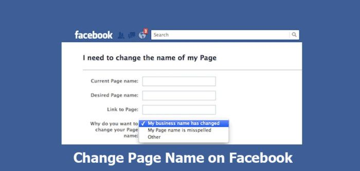 How To Change Page Name On Facebook How To Change My Last Name On Facebook Trendebook Writing Images Facebook Help Funny Words