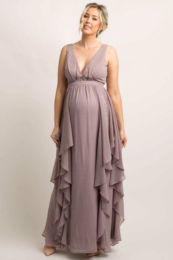 [+] Chiffon Maternity Dresses