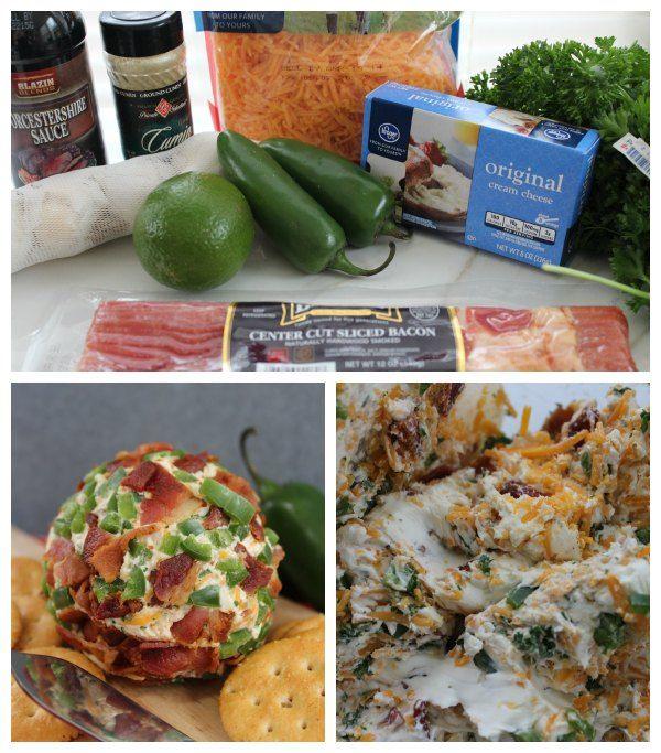 Bacon Cheddar Cheeseball Recipe - iSave A2Z