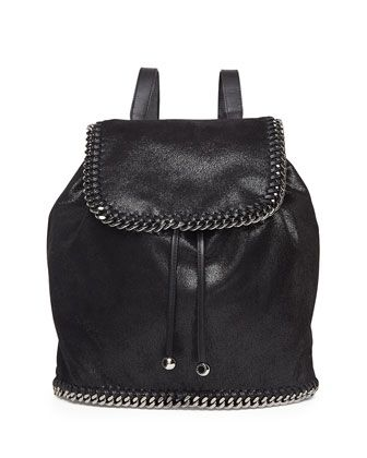 Stella McCartney backpack (more of my favorite backpacks -- http://chicityfashion.com/backpacks-2/)