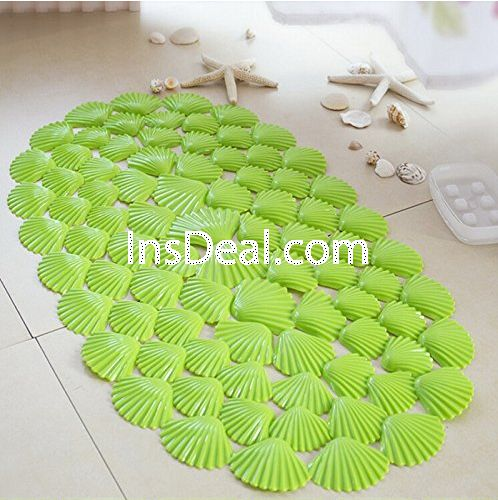 Buy PVC Tub Floor Mat Massage Shower Mat Sell-Shaped Design Solid Color Bathroom Rugs Home Security Anti-Skid Bath Toilet Rugs , from fadfay for $24.90 only in Insdeal.com.
