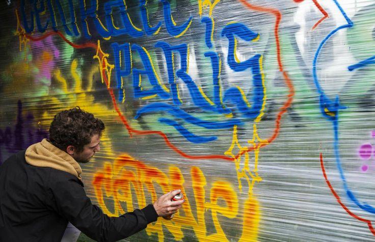 Centrale Seven moment of street art