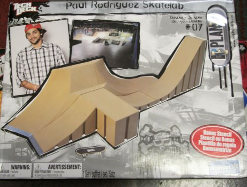 New Tech Deck Paul Rodriguez Deluxe Large Skate Lab Ramp Set 7 of 8 with Board | eBay