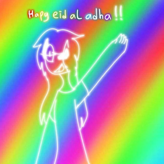 Happy Eid Al Adha! Selamat Hari Raya Idul Adha! Hati Raya