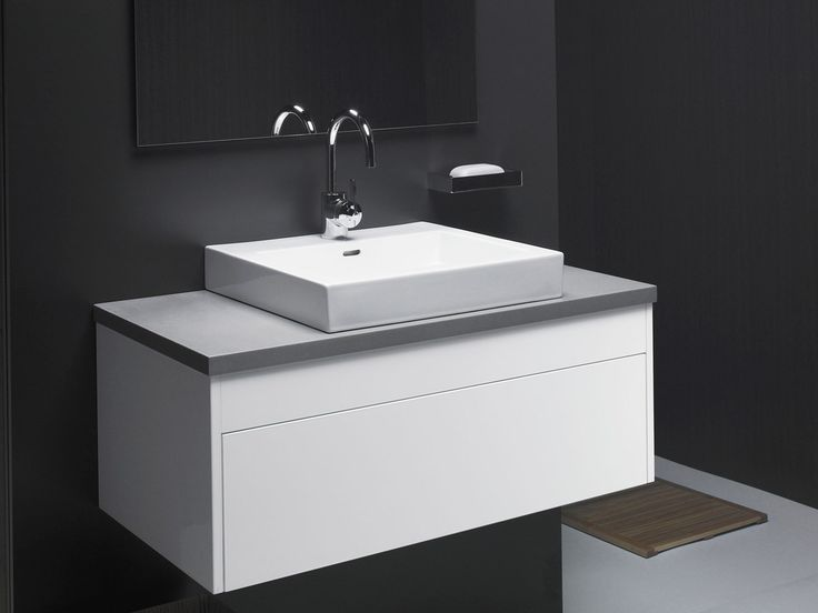 Rifco Acqua 900 Wall Hung Vanity Unit Bathroom In 2019