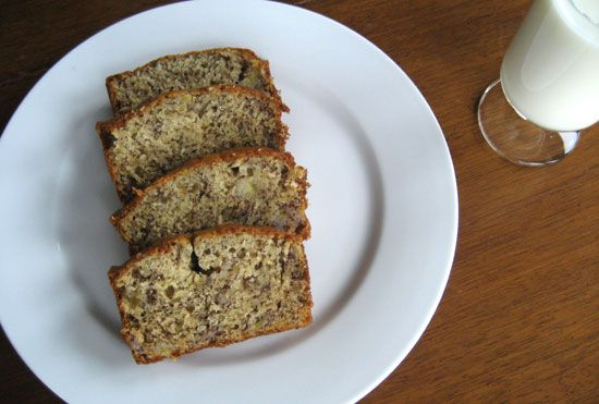My Favorite Banana Bread Recipe - My poor bananas were destined for the gar-bage, so I was forced to find this amazing recipe. Making these into muffins t-5 minutes. :)