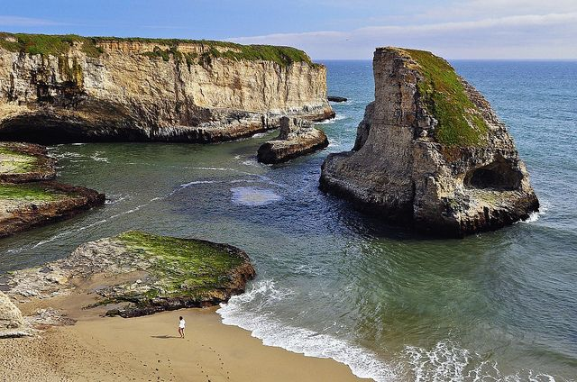 Shark Fin Cove, Santa Cruz, CA.