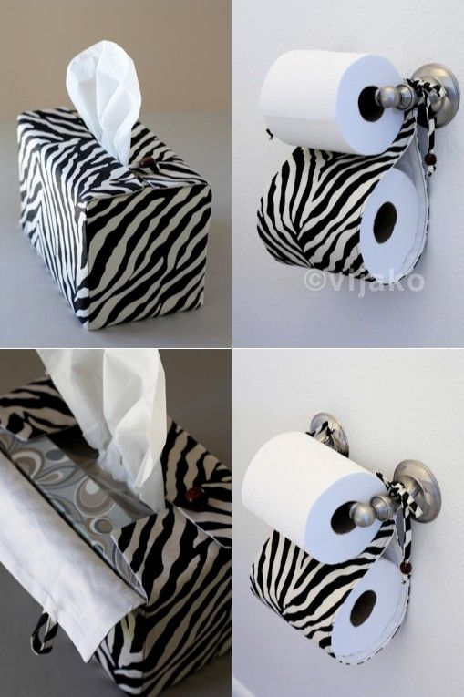 Bathroom accessory's - I think I could make this in a different pattern