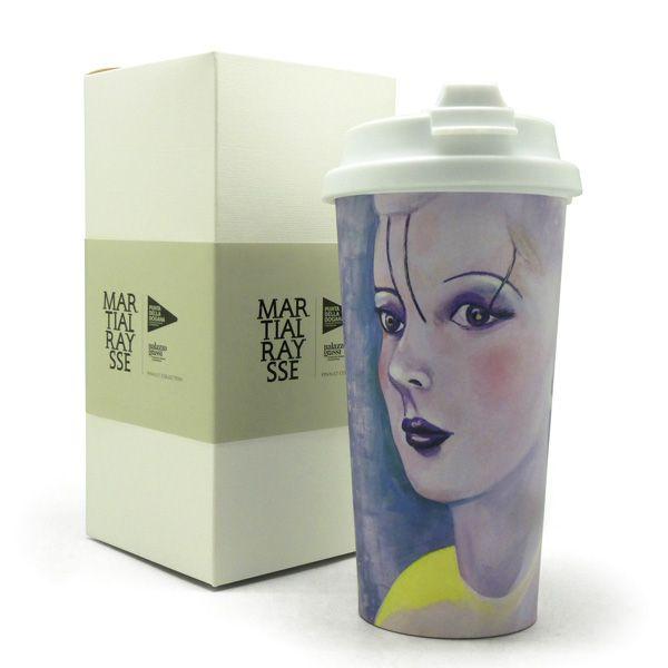 Custom #mug for the art exhibition of Martial Raysse