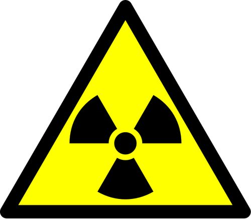 This trefoil is the hazard symbol for radioactive material. For the lap coats.