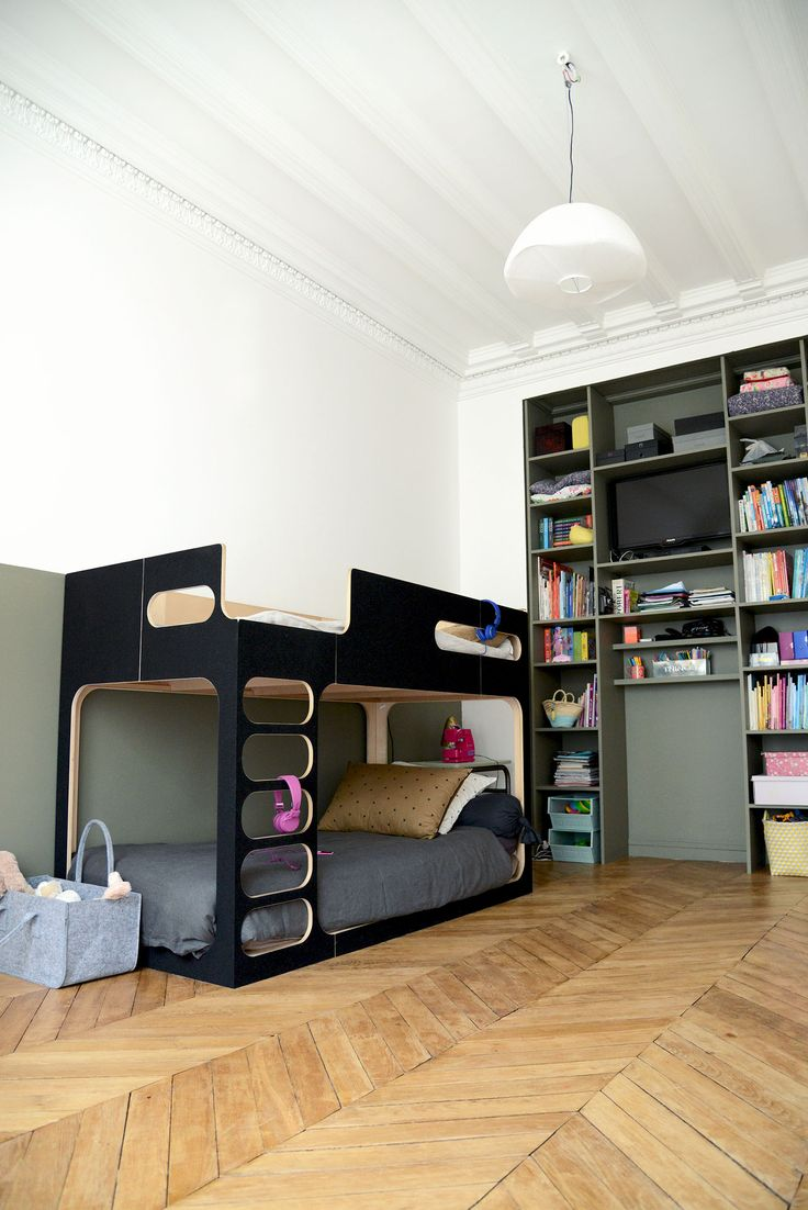 les 25 meilleures id es de la cat gorie deux lits jumeaux. Black Bedroom Furniture Sets. Home Design Ideas
