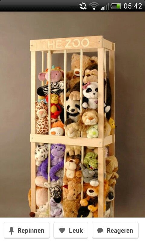 30 Awesome Toy Storage Ideas