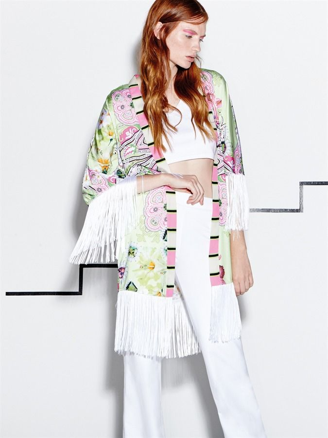 "Naughty Dog SS16 ""Hawaii"" print kimono; one of this season best sellers already!"