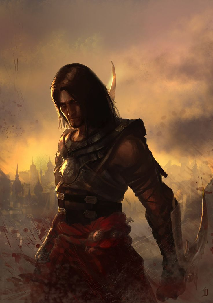 Prince of Persia Fan art by catalinianos