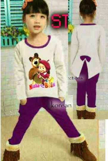 Marsha Print Korea Celana Harem Kantong Kiri Kanan matt Spandek     Lebar dada/panjang top: 36/62cm, celana pinggang karet     Untuk anak 7 – 9 tahun     Harga : Rp. 84.000,-/set     Kode Produk / Product Code : BAP2849
