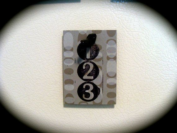 Magnet Set for Fridge 3 Refrigerator Mixed by undercoverPOPULAR